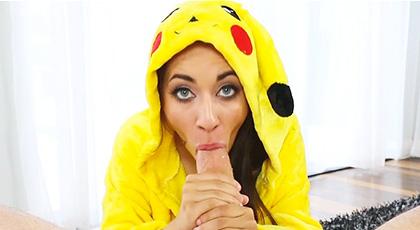 Por fín cazamos un Pokemon en condiciones, de nombre Freya Von