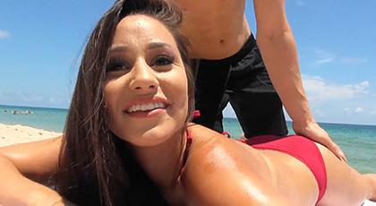 Evie Olson, el ligue de la playa