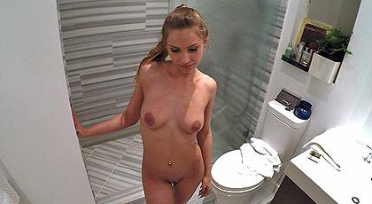 Pillada en la ducha