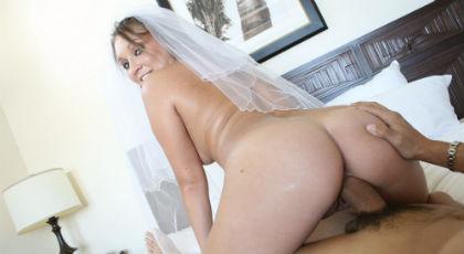 Celebrando la noche de bodas