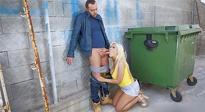 sexo loco en la calle