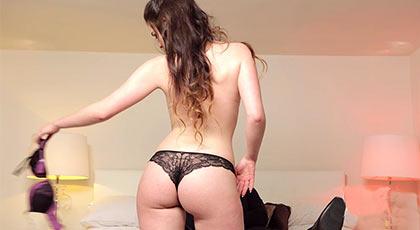 Primera escena porno: Amber Nevada