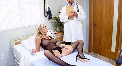 Doctor quiero su polla gorda en mi coño maduro