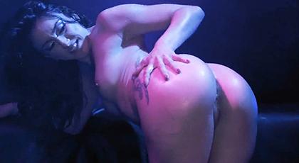 Gran sesión de sexo anal con culona