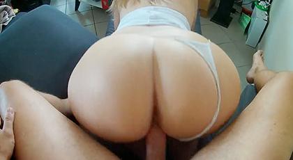 Videos amateur, culo gordo de una esposa caliente