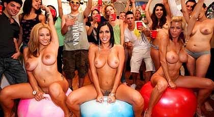 Yo quiero ir a una fiesta así.
