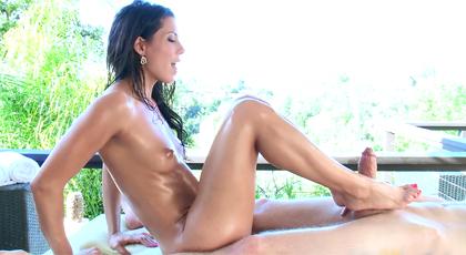 Juegos sexuales con los pies