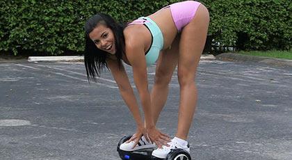 La patinadora más cañera de toda la ciudad follando a saco