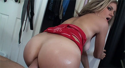 A la rubia le gusta el anal.